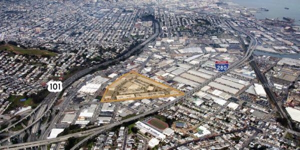 San Francisco Industrial Aerial